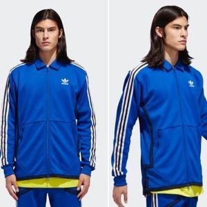 Adidas Windsor Track Jacket Side Stripes Sz 2XL